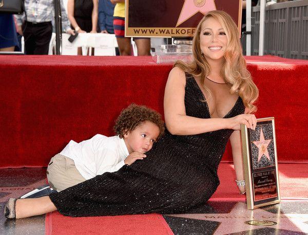 Mariah Carey Photos - Mariah Carey Honored With Star on the Hollywood Walk of Fame - Zimbio