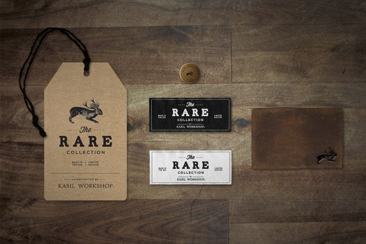 The Rare Collection, Kasil Workshop: Graphic Design, Logo, Packaging, Hang Tags, Graphicdesign, Branding, Rare Collection, Kasil Workshop