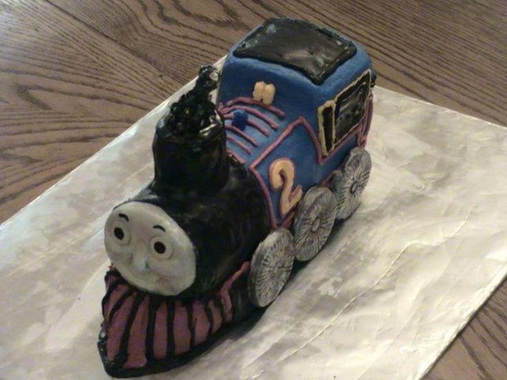 Thomas Train Cake on Cake Central