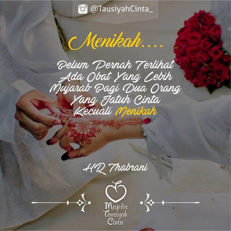 Kalau Cinta Menikah... Bukan Pacaran...  .
