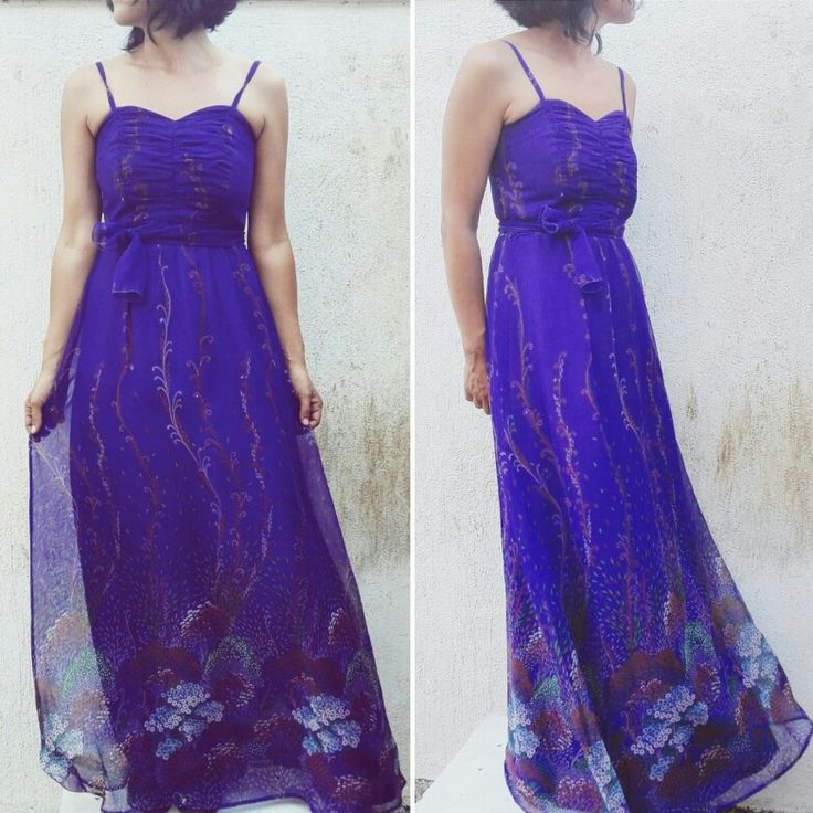 70s vintage longdress #dress #vintagedress #longdress #fashiondress #70s #70sdress #70sstyle #modcloth #vintage