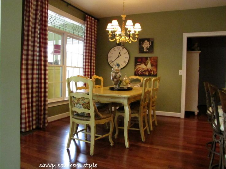 french country dining room can put the curtains around the sliding door to frame it - Country Dining Room Pictures