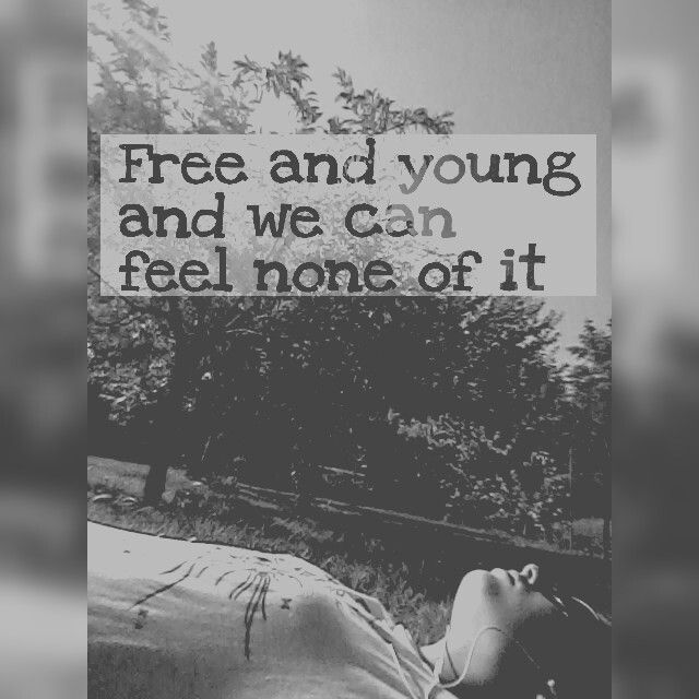 ★Free and young and we can fell none of it★