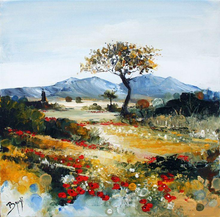 51 best galerie peinture de l 39 artiste peintre bruni for Paysage peinture