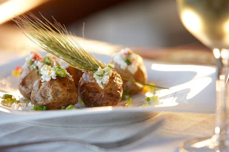 Food at the Daios Cove Luxury Resort & Villas, Crete, Greece #travel #hotel #luxury #breakfast #Daios #resort #villa #Crete #Greece
