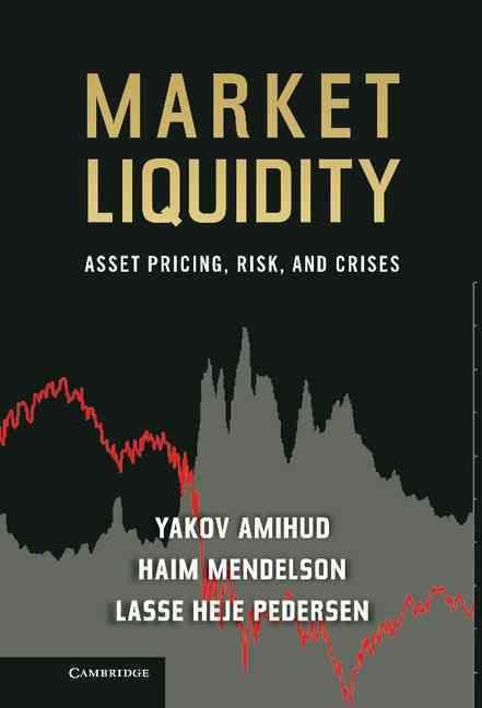 Market Liquidity: Asset Pricing, Risk, and Crises
