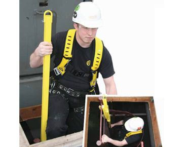 Guardian Fall Protection Ladder Assist available at http://buymbs.com