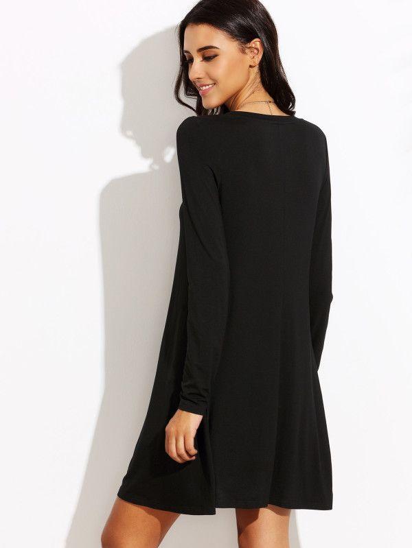 42d06034b60 Swing T-shirt Dress -SheIn(Sheinside)