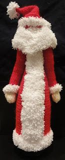 Вязание крючком Crochet : Дед Мороз на бутылку Ч- 2 Santa Claus on a bottle ...