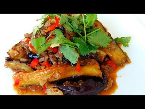 Китайская кухня.  Баклажаны по-китайски. Пальчики оближешь.  鱼香茄子mp4 - YouTube