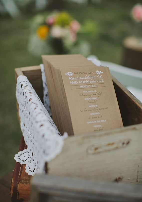 Best 25+ Wedding programs simple ideas on Pinterest | Wedding ...
