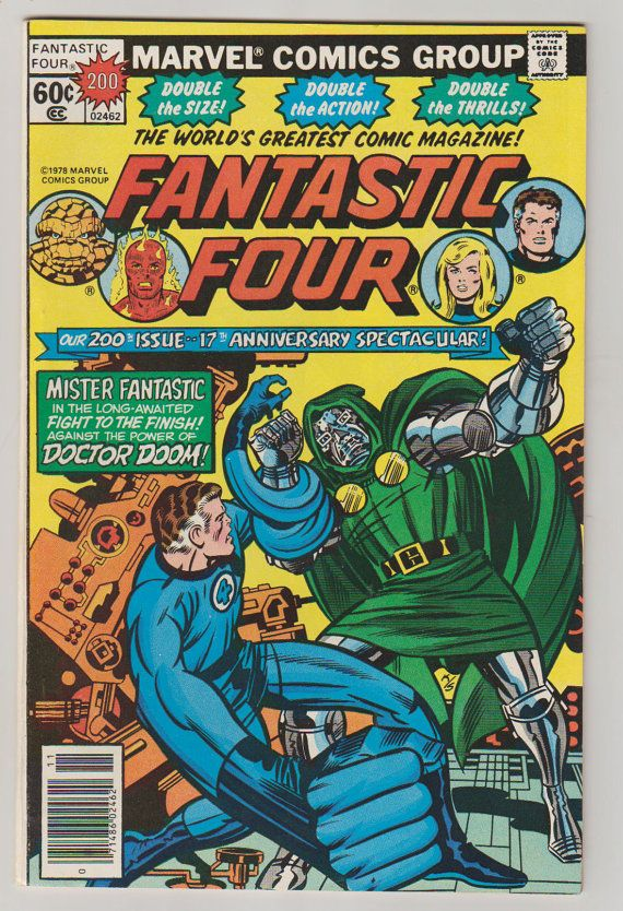 asics resolution 3 Fantastic Four Vol 1 200 Bronze Age Comic by RubbersuitStudios #fantasticfour #jackkirby #comicbooks #etsy