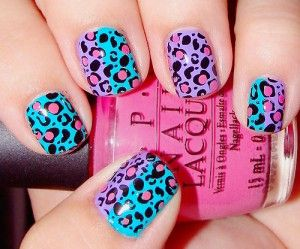 #nails, #beauty Nail Art Picks by Orlando Makeup Artist and LA Makeup Artist: Cheetah, Leopard Print, Nail Polish, Nailart, Makeup, Nails, Nail Design, Nail Art