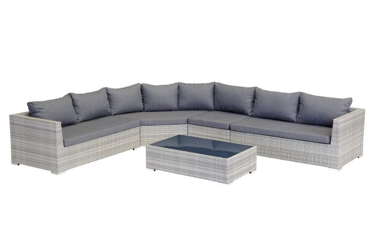 Lisbon 5pce Modular Lounge Setting. The Lisbon 5 piece modular lounge is the epitome of style and elegance. This premium modular setting will impress and provide extreme comfort for all of your guests.