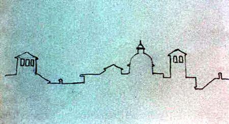 силуэт города рисунок - Поиск в Google