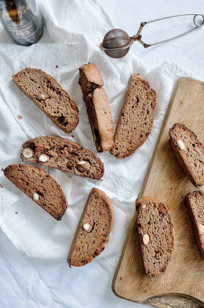 easy chestnut flour biscotti