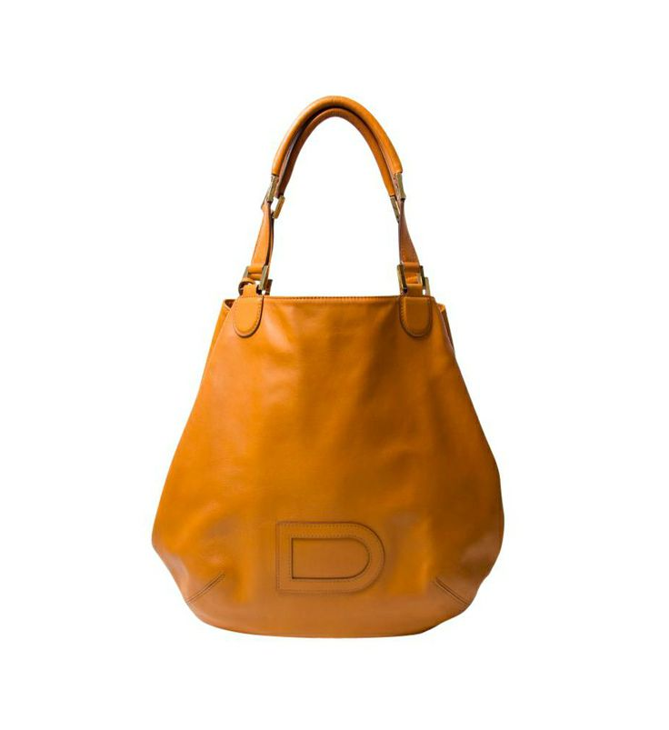 Delvaux Orange Shoulder Bag - DELVAUX
