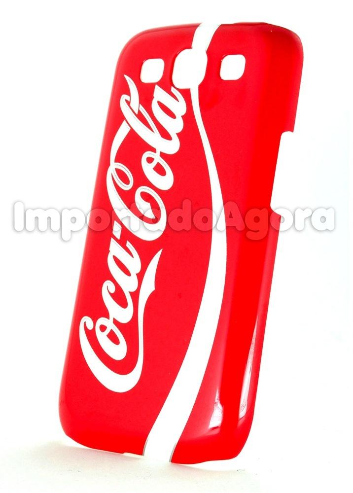 Capa Rígida - Coca-Cola Samsung Galaxy S3 I9300 - Para mais informações clique na imagem :)