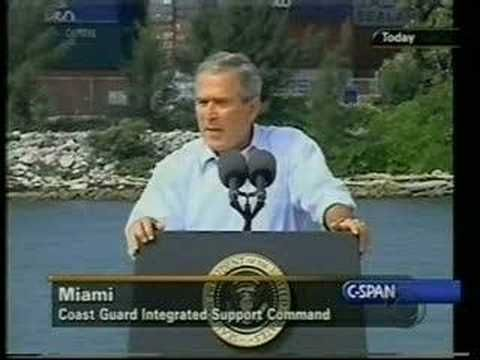 I freakin love watching some George Bush bloopers. He's a funny guy.