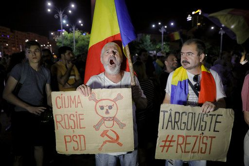 US embassy criticizes Romania's planned judicial changes