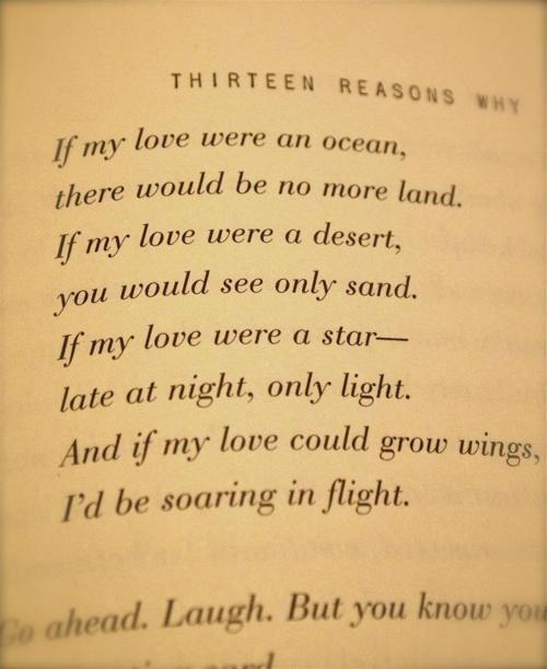 Si Mi Amor Fuera Un Océano No Habría Más Tierra Si Mi Amor Fuer Un