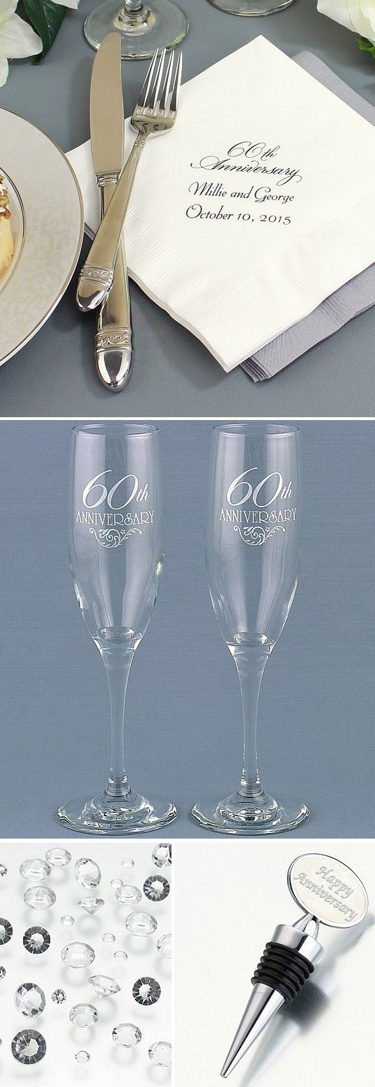 60th Wedding Anniversary Gifts For Friends: 18 Best 60th Anniversary Party Ideas Images On Pinterest