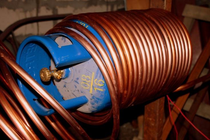 Helical Copper Coil, DIY Heat Exchangers Public Domain