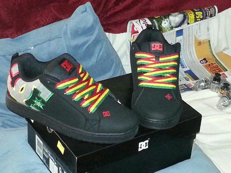 My Husband Rasta Wedding Shoes! !!