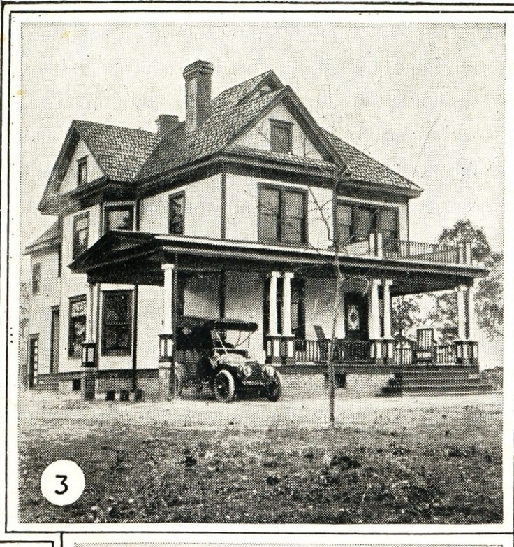 Recrafting A 1915 Craftsman: Sears Modern Home #119. Mr. Lyle's House In 1915. I Like