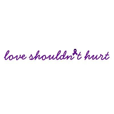 domestic violence ribbon graphic glitter - Google Search