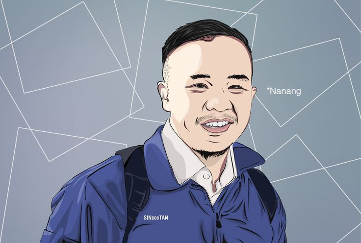 exelvectorsimple *Pak Nanang #vexel #vector