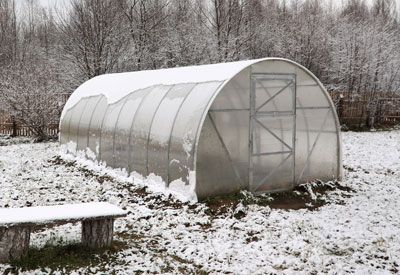 Winter Growing: Heating Greenhouses Winter GreenhouseKeep your winter greenhouse productive with these heating and heat-conserving ideas.