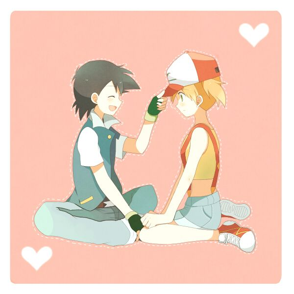 I ship Ash and Misty much more than they intended for me to.  Seriously.  THEY ARE SO PERFECT.  I love when they hold hands! :)