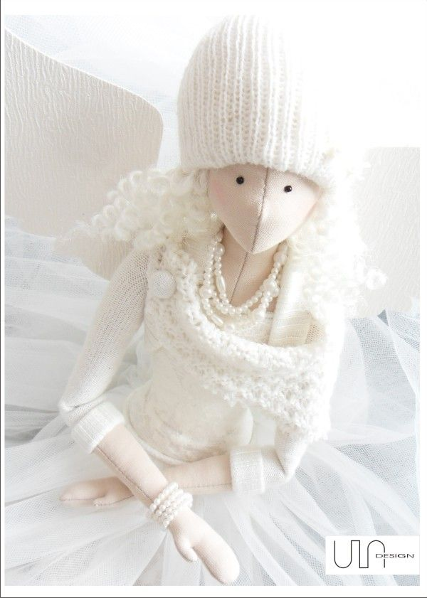 ULAdesign ----- www.facebook.com/ula.design #angels #tilda #doll #wings #withangels #gift #handmade #sewing