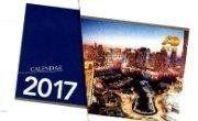 Kalender Duduk 2017 Meja Gambar Gedung Pencakar Langit