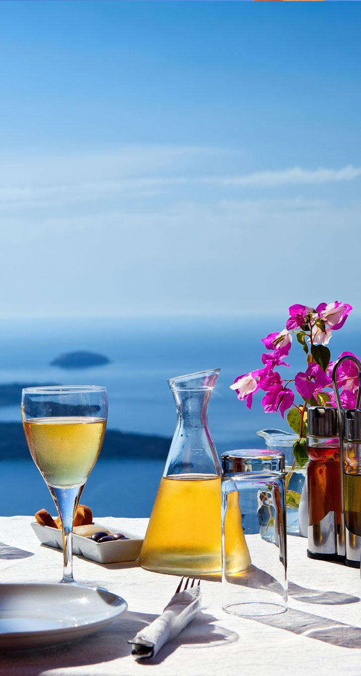 A Perfect Summer Day in Santorini