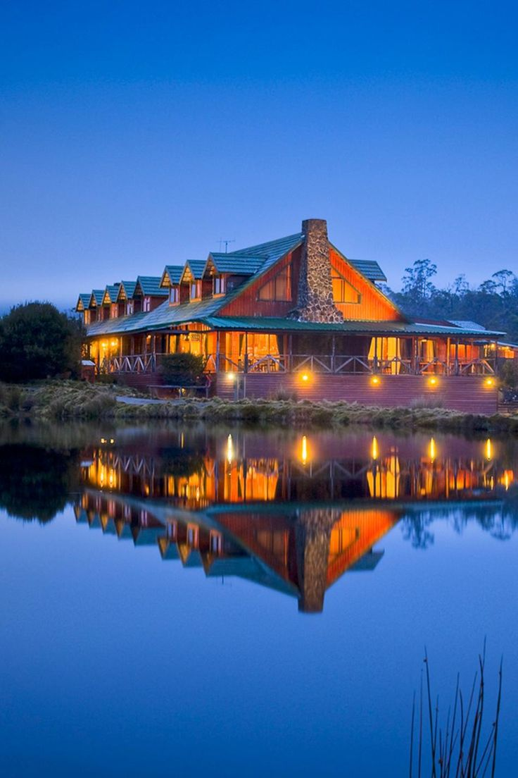 Cradle Mountain Lodge in Tasmania....one of fave vacation spots.
