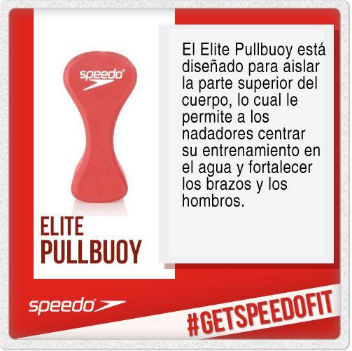 El Elite Pullbuoy de Speedo está diseñado para aislar la parte superior del cuerpo, lo cual permitirá que los nadadores puedan disfrutar de una sesión de ejercicios realmente centrados en el agua, con cada esfuerzo realizado se fortalecerán los brazos y hombros.