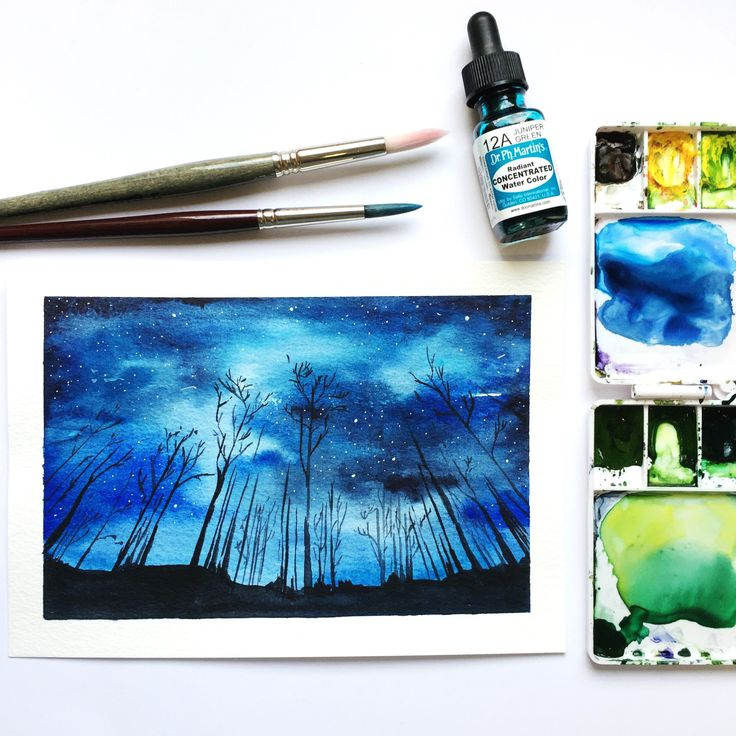 Just launched! The Night Sky original watercolour painting https://www.etsy.com/listing/546776126/the-night-sky-original-watercolour?utm_campaign=crowdfire&utm_content=crowdfire&utm_medium=social&utm_source=pinterest