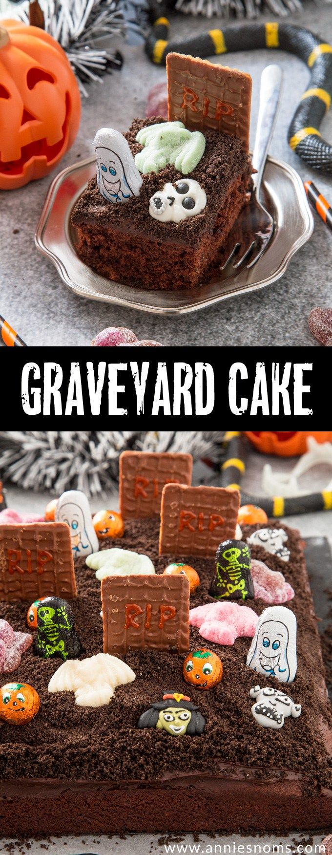chocolate graveyard cake