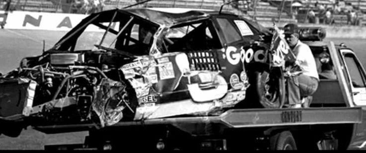 Dale Earnhardt Sr. 1989 Daytona Busch Series crash