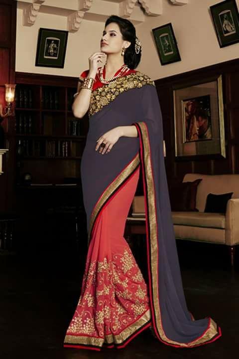 #designer #sarees @ http://zohraa.com/orange-faux-georgette-saree- z2983p5605-132.html #designersaree #zohraa #onlineshop #womensfashion #womenswear #bollywood #look #diva #party #shopping #online #beautiful #beauty #glam #shoppingonline #styles #stylish #model #fashionista #women #lifestyle #fashion #original #products #saynotoreplicas