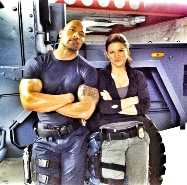 """On the set of """" Fast and Furious 6 """""""