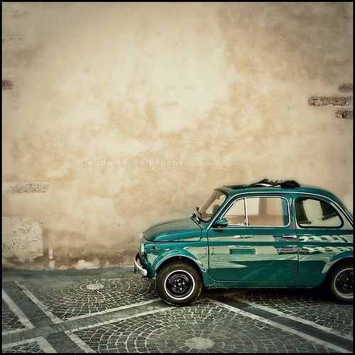 Yes! Fiat 500 Oldie, love this car