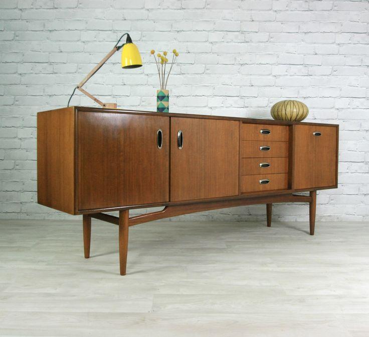 G Plan Retro Vintage Teak Mid Century Danish Style Sideboard Eames Era 50s 60s