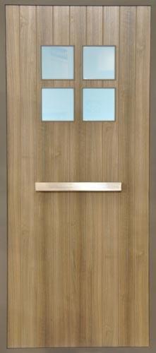 Verwerk hout in je voordeur! - Frager - Fralu - Livios