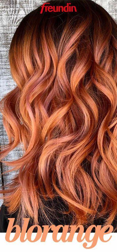 Tschüss Blond! Wenn Sie trendy sein möchten, tragen Sie jetzt Blorange – Hair