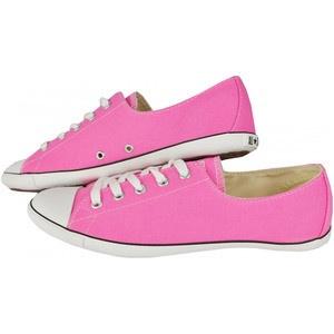 Cu un design simplu dar modern, pantofii sport Converse All Star Light OX satisfac si cele mai sofisticate gusturi feminine. Sunt de culoare roz si pot fi asortati cu usurinta atat la o tinuta sport cat si la una casual.
