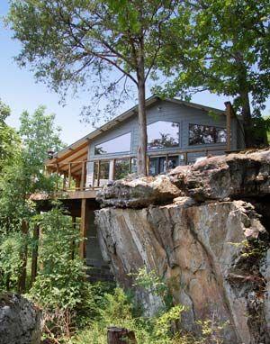 Our Spacious Beaver Lake Cabins Take Advantage Of Their