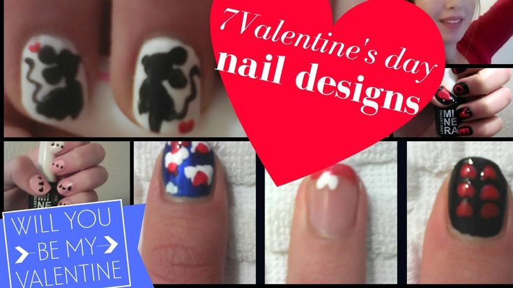 7 Valentine's Day Nail Art Designs 2017 - 7 Εύκολα Σχέδια Για Νύχια Αγίου Βαλεντίνου Ι Mirtoolini https://youtu.be/20CyHEGSmB0 #mirtoolini #youtuber